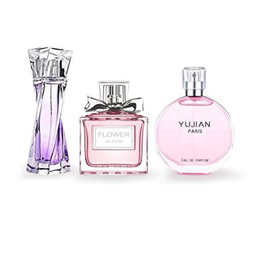 Zhou-YuXiang Perfume Original de Fragancia Fresca de tamaño portátil para Mujer, Perfume para Mujer y Hombre, Conjunto de Perfume de Fragancia Fresca y Duradera