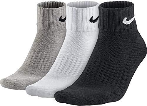 Nike Lightweight Cushion Ankle Socks Socken 3er Pack (M, multi)