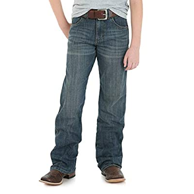 Wrangler Boys' Retro Relaxed Fit Boot Cut Jeans, falls City, 16 REG