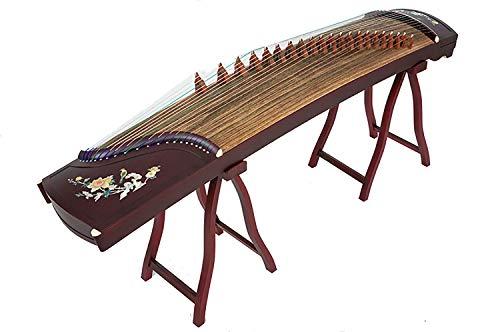 N /A Guzheng, mit einem kompletten Satz von Zubehör, chinesischem Musikinstrument, Größe: 163 cm, Geeignet for Anfänger, Profis, Einleitende Praxis