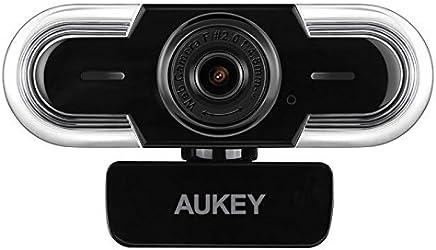 AUKEY Webcam 2K HD con microfono, messa a punto manuale e regolazione automatica della luce, telecamera Web per chat video e registrazione, compatibile con Windows, Mac e Android - Confronta prezzi