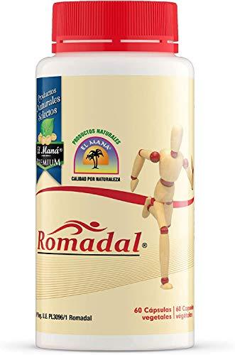 Productos Naturales El Maní ROMADAL 60 Cap, Estándar, Único