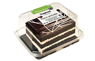 The Original Cakerie Inspired by Happiness, Dreamin' of Chocolate Dark and White Chocolate Layer Cak