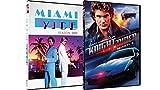 80s Action TV Show Combo: Knight Rider Season 1 & Miami Vice Season 2!