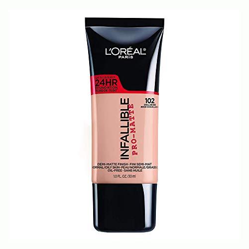 L'Oréal Paris Infallible Pro-Matte Liquid Longwear Foundation Makeup