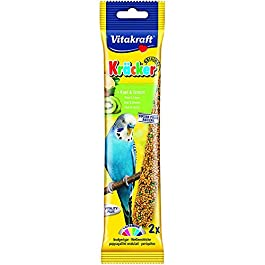Vitakraft Budgie Kracker Bird Food Kiwi-Citrus, Pack of 7