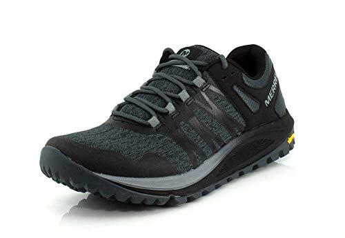 Merrell Nova, Zapatillas de Running para Asfalto para Hombre, Negro...