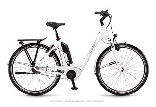 Winora Sinus Tria N7 Bosch Elektro Fahrrad 2019 (46cm, Weiß)