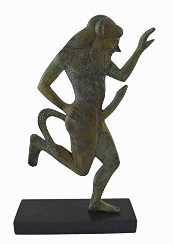 Satyr Skulptur Bronze-Statue Antike Griechische Mythic Creature Artefakt