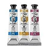 Colores Blancos Óleo Goya Titan - Tubo 6 - 20 mL, 4-Blanco Goya
