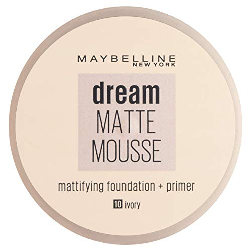 Maybelline Dream, Fondotinta Compatto In Mousse, Ivory 18, ml 10, L imballaggio Può Variare