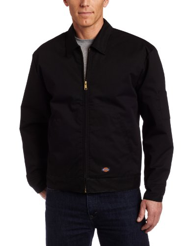 Dickies Men's Big-Tall Insulated Eisenhower Jacket, Black, XX-Large Tall