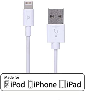 Lightning Cable [Apple MFi Certified], 3.3 Feet, 8 Pin to USB Sync Cable Charging Cord for iPhone X Xs Xr Xs Max 8 8 Plus 7 7 Plus 6s 6s Plus 6 6+ iPad Pro iPad Air iPad Mini iPod Touch