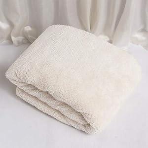 WLLLO Las Toallas del Hotel no tiran el Pelo, la Toalla de Secado rápido, el toallón de baño del Hotel Adulto Suave y Engrosado del bebé Grande, B