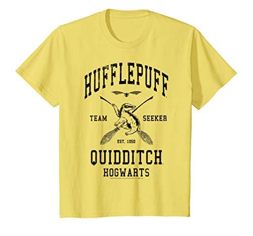 Kids Harry Potter Hufflepuff Bold Team Seeker T-Shirt