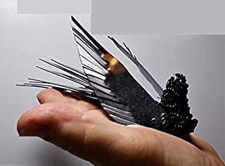 Victorian Beaded Black Celluloid Bird Hair Comb/Clip/Brooch/Handmade By Me w/Vintage Materials You Choose Comb to Brooch Mourning Goth
