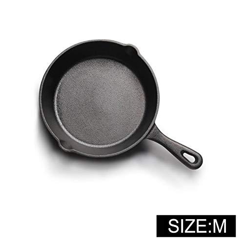 Pan Gietijzer Anti-aanbakplaat 14-26CM Koekenpan voor Gas Inductie Cooker Ei Pannenkoek Pot Keuken & Eetgerei Kookgerei 16cm
