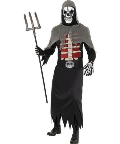 Smiffy's - Disfraz de segador para hombre (talla 38-40 inch)