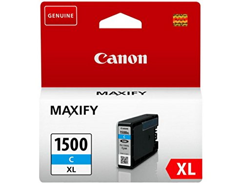 Canon original - Canon Maxify MB 2050 (PGI-1500 XLC / 9193 B 001) - Tintenpatrone cyan - 1.020 Seiten - 12ml