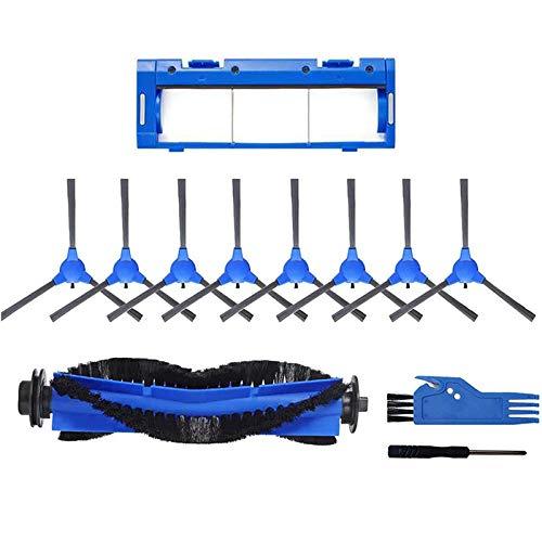 Kaxofang Brush Tool Kit R650 R600 R700 for DeenKee DK600 for Bagotte BG600 Main Brush for Coredy R3500 Goovi 1600PA D380 IMartine