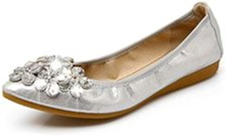 Cloudless Women's Wide Width Flat shoes - Comfortable Slip On Ballet Flats