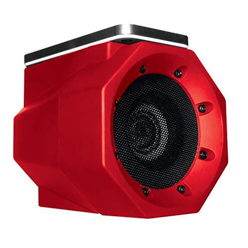 BoomTouch Wireless Portable Speaker- No Dock, No Wires, No Bluetooth Required, Amplifies Your Device's Sound, As Seen On TV (Red)