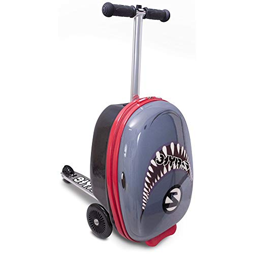 Flyte Snapper The Shark Maleta Midi Scooter de 18, Juventud Unisex, Azul