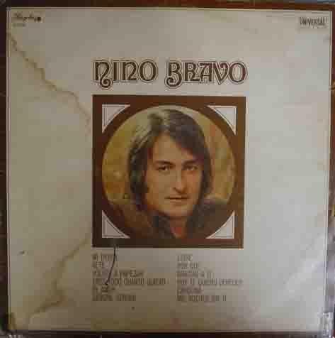 Disco Vinilo - Old vinyl .- NINO BRAVO