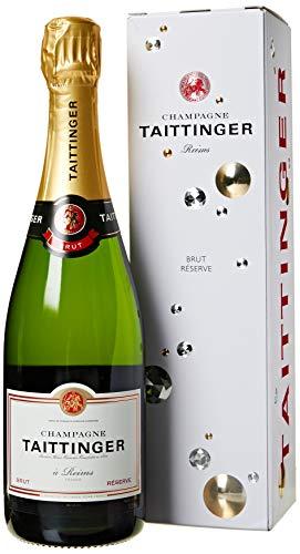 Taittinger Brut Champagne con Scatola, 750 ml