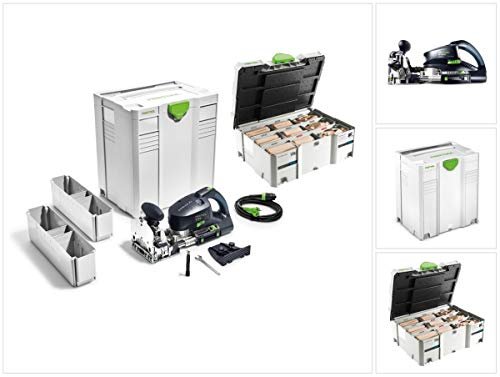 Festool DF 700 EQ-Plus Domino XL - Fresa per tasselli, 720 W (574320), 70 mm, in Systainer + 306 pezzi Set di tasselli
