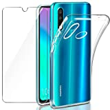 Leathlux Coque Huawei P30 Lite/ P30 Lite New Edition Transparente + Verre trempé...