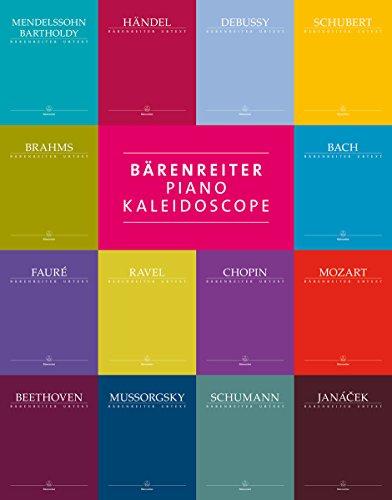 Bärenreiter Piano Kaleidoscope. Spielpartitur, Urtextausgabe, Sammelband (für Klavier). BÄRENREITER URTEXT