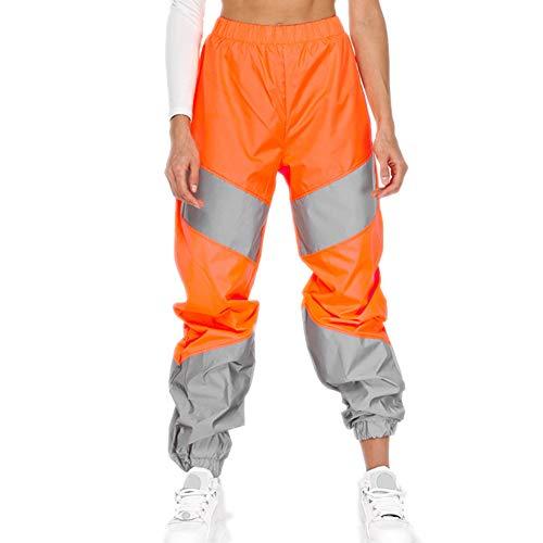 pequeño y compacto Pantalones deportivos de cintura media A / N para mujer de otoño / invierno …