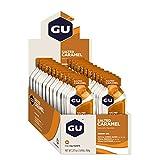 GU Energy Gel Energizante de Caramelo Salado - Paquete de 24 x 32 gr - Total: 768 gr