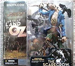 Spawn McFarlane Monsters Twisted Land of Oz Scarecrow Includes Chapter 4 & 5 Of Twisted Land of Oz Mythology