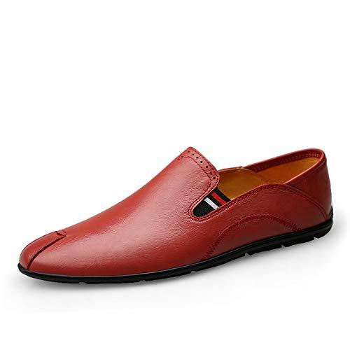 Geruiqi Moda Plateau Wingtip voor heren, comfortabele PU-business lederen bruidsjurk moda plateau wingtip anti-slip kanten kanten brogue hals, casual schoenen, comfortabel design voor g