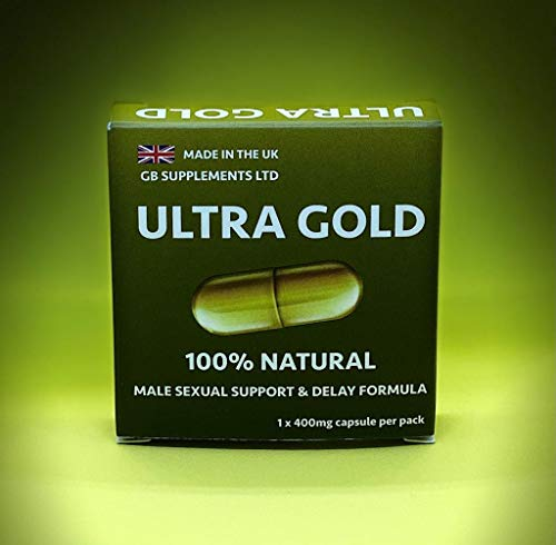 Ultra Gold Sexual Support with Added DELAY Properties - Strongest in The UK Today - 100% Natural