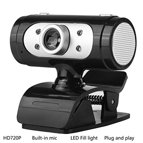 Computer Camera HD 720P USB Webcam met Microfoon voor Youtube/Tiktok Live Streaming En Gaming Desktop En Laptop Webcam