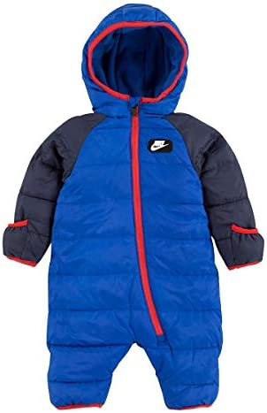 Nike Baby s Puffer Snowsuit Game Royal 56F422 U89 Red 3 Months product image