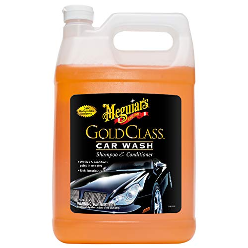 Meguiar#039s G7101FFP Gold Class Car Wash  1 gallon