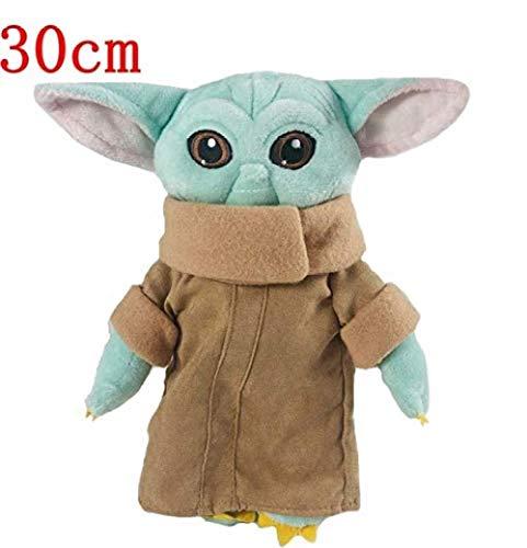 NC56 Cartoon Tier PlüschtierGefüllte Yoda Baby Plüsch Puppe Dobby Spielzeug Für Kinder Plüsch Star War 30Cm