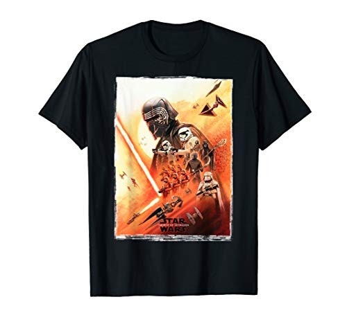 Star Wars: The Rise Of Skywalker Kylo Ren First Order Poster T-Shirt