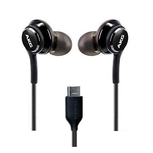 416ZHRHIbDL - OEM Amazing Stereo Headphones for Samsung Galaxy S8 S9 S8 Plus S9 Plus S10 Note 8 9 - Designed by AKG - with Microphone