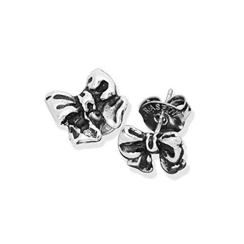 Orecchini argento mini Fiocco Giovanni RASPINI