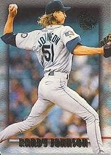 1995 Topps Embossed Baseball Card #69 Randy Johnson