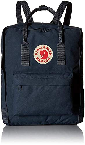 FJÄLLRÄVEN Unisex-Erwachsene Kånken Backpack, Blau (Navy), 27x38x13 cm (B x H x T)