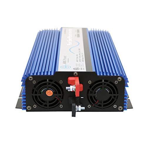 AIMS 1500 Watt, 3000 Watt Peak, Pure Sine DC to AC Power Inverter, USB Port, 2 Year Warranty, Optional Remote, Listed to UL 458