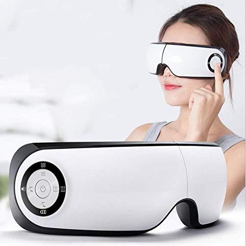 XSSD001 Oogmassage Dubbele Airbag Smart Air Eye Massager, Masker Elektrische Oog Massager, Oogbescherming, Hot Eye Masker, wit, A