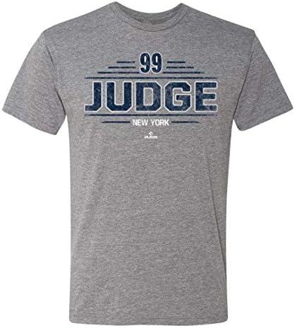 108 Stitches MLBPA New York Yankees Aaron Judge Men s Bat Rack Tee Tri Blend T Shirt XX Large product image
