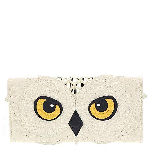 Monedero Harry Potter Hedwig Owl Loungefly 21,5x10,3x3,8cm Blanco